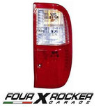 FANALE POSTERIORE DX / SX BIANCO-ROSSO FORD RANGER 02/05