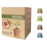 Madreterra Compostabile e compatibile Nespresso DEGUSTAZIONE