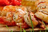 Vis voor de BBQ of grill