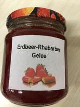 Erdbeer-Rhabarber Gelee  95g ml oder 195g