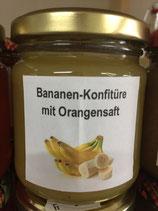 Bananenkonfitüre mit Orangensaft 200g