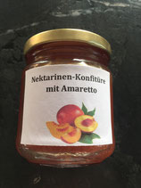 Nektarinen Konfitüre mit Amaretto  200g