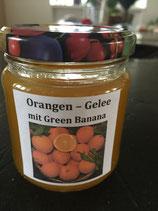 Orangen - Green Banana, Gelee  200g
