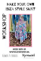 Workshop Ibiza Style skirt