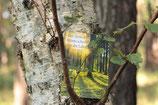 Waldpostkarte