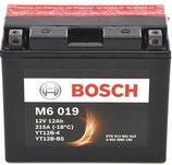 M6 019 Starterbatterie Bosch YT12B-BS