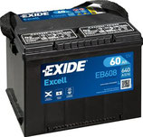 EB558 Exide Excell Starterbatterie US 58Ah (früher 60Ah)