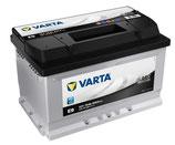 570 144 064 / E9 Varta Black Dynamic Starterbatterie 70Ah