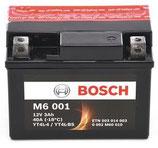 M6 001 Starterbatterie Bosch YTX4L-BS
