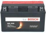 M6 008 Starterbatterie Bosch YT7B-BS