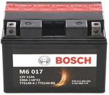 M6 017 Starterbatterie Bosch TTZ14S-BS