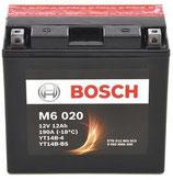 M6 020 Starterbatterie Bosch YT14B-BS