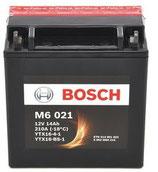 M6 021 Starterbatterie Bosch YTX16-BS-1