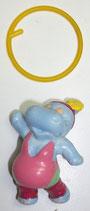 Variante Ring TRANSPARENT MIT BLÄSCHEN Susi Sonnenschein  Happy Hippos im Fitnessfieber 1990