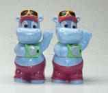 Variante Tele Toni hellviolett Die Happy Hippos auf dem Traumschiff 1992