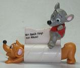 Variante Die längste Maus der Welt  Ist die Katze aus dem Haus... 2002