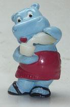 Variante Sauna Sepp Flasche milchig Happy Hippos im Fitnessfieber 1990