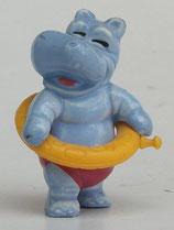 Variante Planscher Pauli hellblau Die Happy Hippos 1988