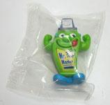 Variante Mr. Marker grün OVP   Die Verrückte Schreibtischbande 2002