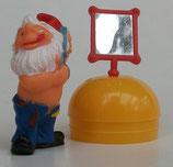 Variante 3 Figaro Spiegel auf Eihälfte Die Badezimmerzwerge 1991