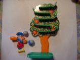 3K97 N4 Kugelspiel Apfelbaum Maxi