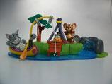3K03 N13 Tom & Jerry beim Campen  Maxi