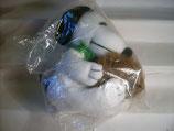 3K99 Snoopy mit Fellmütze XL Plüsch Maxi