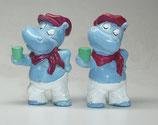 Variante Sascha Sonnendeck hellviolett Die Happy Hippos auf dem Traumschiff 1992