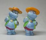 Variante Nico Neureich hellviolett Die Happy Hippos auf dem Traumschiff 1992