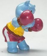 Variante Brummer Beppo Gürtel braun Happy Hippos im Fitnessfieber 1990