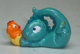 Variante Trampelino Küken dunkelorange Die Drolly Dinos 1993