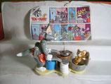 3K03 N11 Tom & Jerry beim kochen Maxi