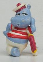 Variante Freddy Flaute Hemd rot Die Happy Hippos auf dem Traumschiff 1992