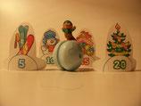 TR-25N-6 Schneeball Zielspiel Weihnachten Mini-Maxi