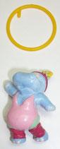 Variante Susi Sonnenschein Ring orange Happy Hippos im Fitnessfieber 1990