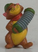 Variante Peppo dunkelbraun; Bauch gelb bemalt  Aristocats 1989