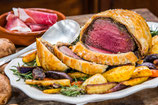 Beef wellington single portion