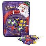 CADBURYS XMAS PARCEL TREE DECORATION 83G