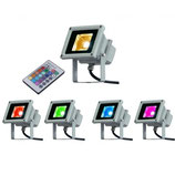 Projecteur LED 10W RGB étanche
