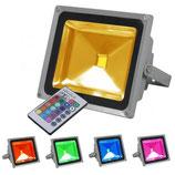 Projecteur LED 30W RGB étanche