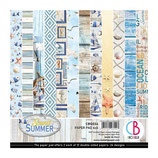 Ciao Bella 6x6 Paper Pad - The Sound of Summer
