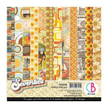 Ciao Bella 6x6 Paper Pad - The Seventies