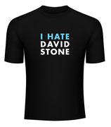 T-Shirt I hate David Stone
