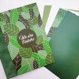 Tinkerbook-Set Grünblätter