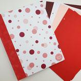 Tinkerbook-Set rosa Dots Einband: flamingo