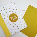 Tinkerbook-Set Goldige Dreiecke