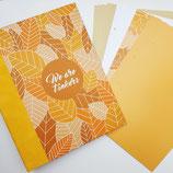 Tinkerbook-Set Herbstblätter