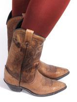 Vintage Santa Fe Westernstiefel in der Größe ca. 36 - 36,5