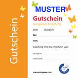 Gutschein 1 Std. Wingwave Coaching