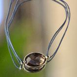 Bracelet fil Quartz fumé